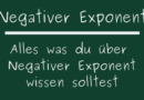 Negativer Exponent