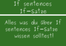 If sentences If-Sätze