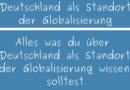 Deutschland als Standort der Globalisierung