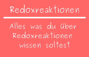 Redoxreaktionen