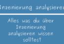 Inszenierung analysieren