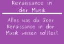 Renaissance in der Musik
