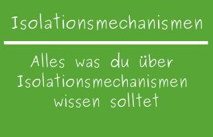 Isolationsmechanismen