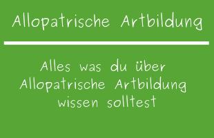 Allopatrische Artbildung