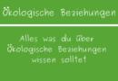 Ökologische Beziehungen