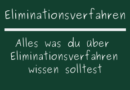 Eliminationsverfahren