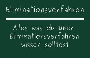 Eliminationsverfahren