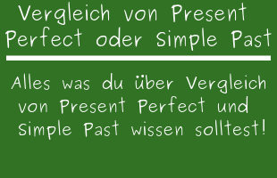 Kennenlernen past perfect