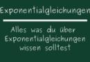 Exponentialgleichungen