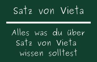 Satz von Vieta