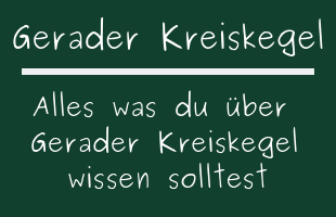Gerader Kreiskegel