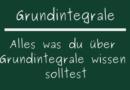 Grundintegrale