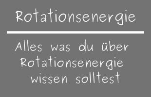 Rotationsenergie