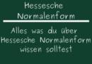 Hessesche Normalenform