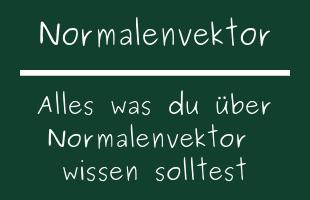 Normalenvektor