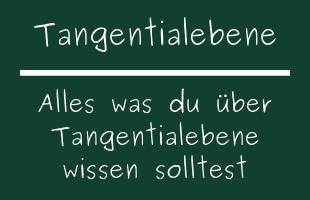 Tangentialebene