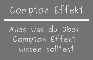 Compton Effekt