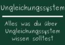 Ungleichungssystem
