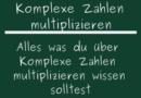 Komplexe Zahlen multiplizieren