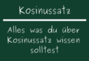 Kosinussatz