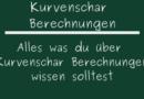 Kurvenschar Berechnungen
