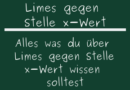 Limes gegen Stelle x-Wert