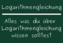 Logarithmengleichung