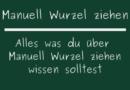 Manuell Wurzel ziehen
