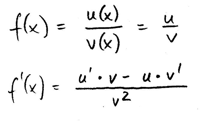 Ableitung_Quotientenregel_Formel