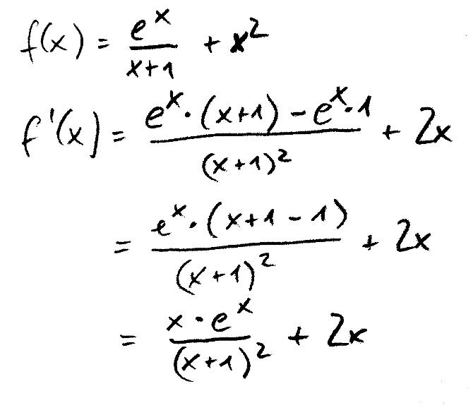 Ableitung_Quotientenregel_Summenregel_Beispiel