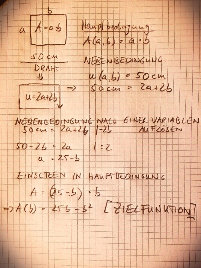 Extremwertaufgaben_Nebenbedingung_Zielfunktion