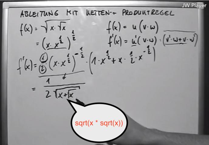 Produktregel_14._Ableitung_mit_kombinierter_Ketten-_und_Produktregel