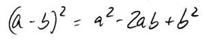 a_minus_b_Quadrat_zweite_binomische_Formel